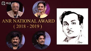 ANR National Awards 2018 - 2019