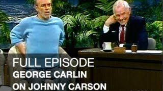 JOHNNY CARSON FULL EPISODE: George Carlin Stand Up Comedy, Dog Climber, Johnny Carson's Tonight Show
