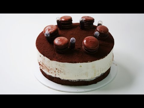 티라미수 케이크 만들기 Tiramisu Cake Recipe   한세