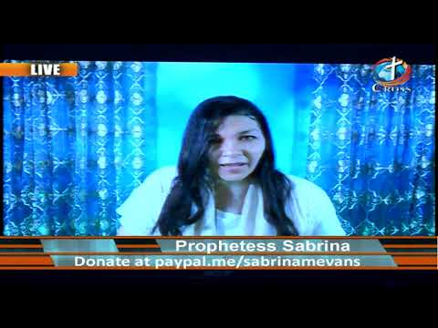 Prophetess Sabrina M. Evans ( it's Supernatural it's Real ) 07-08-2020