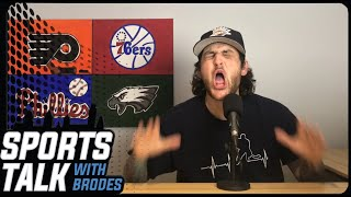 PHILADELPHIA FLYERS: PATHETIC 6-1 LOSS TO THE SABRES!! D ZONE TURNOVERS & CARTER HART PULLED!!