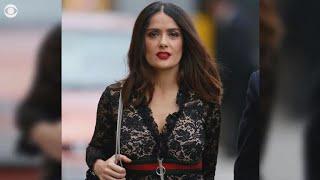 """Salma Hayek says her refusals led to Weinstein's """"fury"""""""