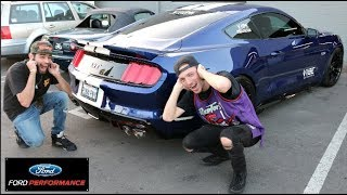 A Ride In The Worlds Fastest Street Legal Mustang.. 1600WHP 5.0