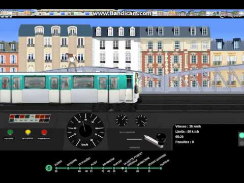 sp cial noel paris m tro simulator ligne 6 version 8 youtube. Black Bedroom Furniture Sets. Home Design Ideas