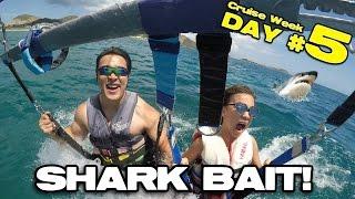SHARK BAIT!!! Parasailing & Banana Boat in St. Maarten!  [CRUISE WEEK DAY 5]