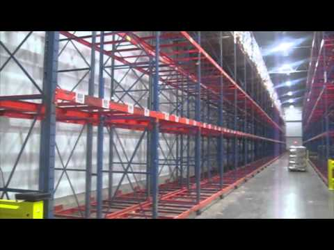 Selective Pallet Rack Installation