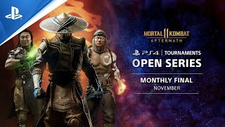 Mortal Kombat 11 Monthly Finals EU : PS4 Tournaments Open Series