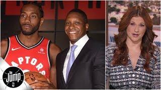 Raptors GM made gambles that would 'make a bookie blush,' and he won - Rachel Nichols   The Jump