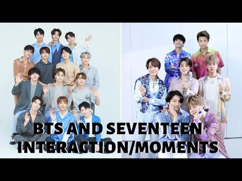 BTS AND SEVENTEEN FRIENDSHIP (pt.2)