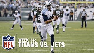 Titans Trickery! Marcus Mariota Catches Huge 41-Yard TD Pass! | Titans vs. Jets | NFL