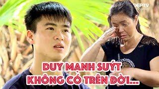 Thăm nhà Duy Mạnh phần 2 - Mạnh suýt không có trên đời   Vlog Minh Hải
