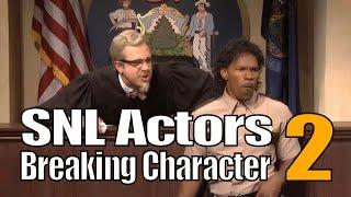 SNL Bloopers & Actors Breaking Character Compilation (Part 2)