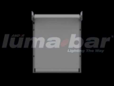 Luma Bar Integral LED Compartment Lighting Within an AMDOR Roll-Up Door.
