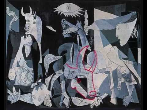 Guernica Subliminal Images - YouTube