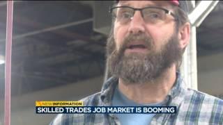 Skilled trades job market is booming