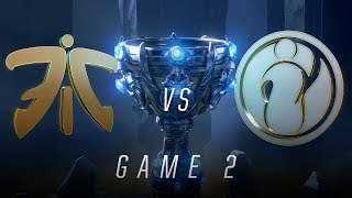 FNC vs IG | Finals Game 2 | World Championship | Fnatic vs Invictus Gaming (2018)