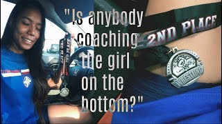 is anybody coaching the girl on the bottom