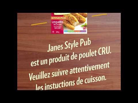 Vidéo : Visionnez cette courte capsule vidéo pour en apprendre plus sur les bonnes pratiques de cuisson pour les produits de poulet congelés et panés crus.