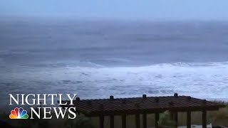 Dangerous Storm Surge From Hurricane Florence Begins To Flood Carolina Streets | NBC Nightly News