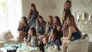 Girls' Generation 少女時代 'Making of Photoshoot THE BEST New Edition' (HD 720p)