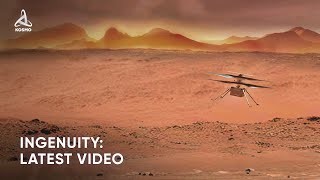 Latest Data from Ingenuity on Mars. New Videos and Panoramic Photos