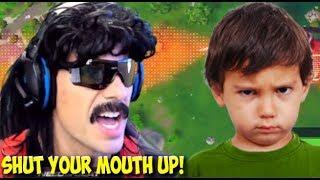 DrDisRespect Tells Kid to SHUT UP in Fortnite Random Duos (8/6/18) (1080p60)