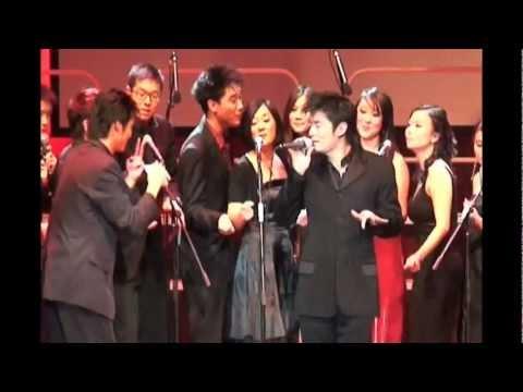 Andrew Chung & PennYo (朋友) singing 陶喆 / David Tao's