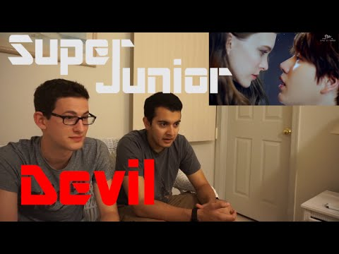 Super Junior - Devil MV Reaction
