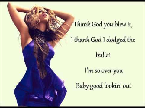 Beyonce - Best Thing I Never Had lyrics
