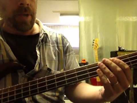 How to play Crazy Train on the Bass guitar