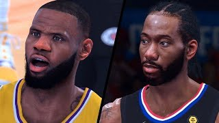 Los Angeles Lakers vs. Los Angeles Clippers - Game 7 - 2020 NBA Conf. Finals! - Full Gameplay