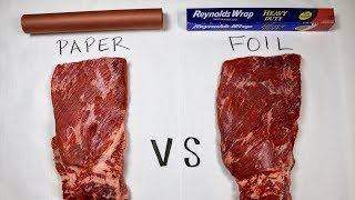 Brisket Wrap Test: Wrap in Foil or Butcher Paper? Smoked Prime Throwdown MAK Grills 2 star General