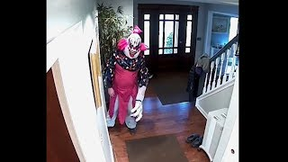 giant scary clown breaks into our house... (HELP)