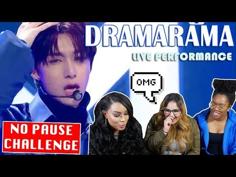 MONSTA X DRAMARAMA PERFORMANCE REACTION || NO PAUSE CHALLENGE || TIPSY KPOP