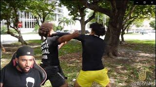 LMFAOO KING CID VS SMOOTH GIO! **I Pulled Up** REACTION!