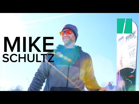 Paralympian Mike Schultz Designs His Own Prosthetic Legs