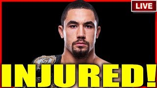 🔴 BREAKING!!! ROBERT WHITTAKER HAS BEEN PULLED FROM UFC 234 DUE TO INJURY!