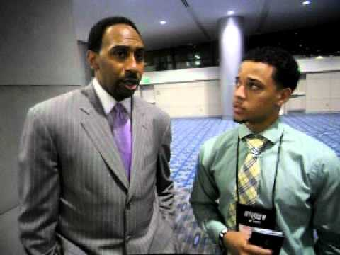 Stephen A. Smith Interview - YouTube