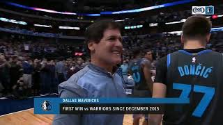 NBA HIGHLIGHTS: Luka Doncic, Harrison Barnes lead Dallas Mavericks past Golden State Warriors