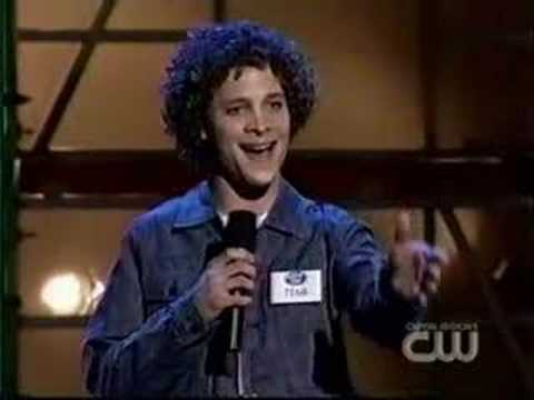Justin Guarini- Hollywood auditions (w/ rare footage)