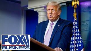 LIVE: Trump holds press conference after Biden, Harris deliver remarks