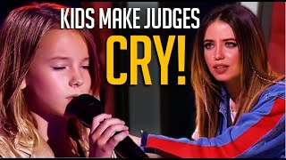 When Kids Make The Judges BREAK DOWN Crying😭