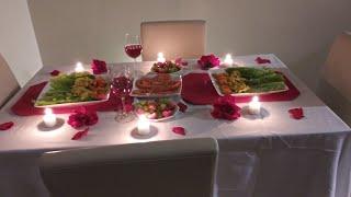 Romantic dinner recipe/womantik resèt.