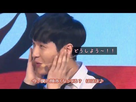 EXO LAY レイ君が焦りながら選ぶEXOの中でカッコいい人♪ 日本語字幕