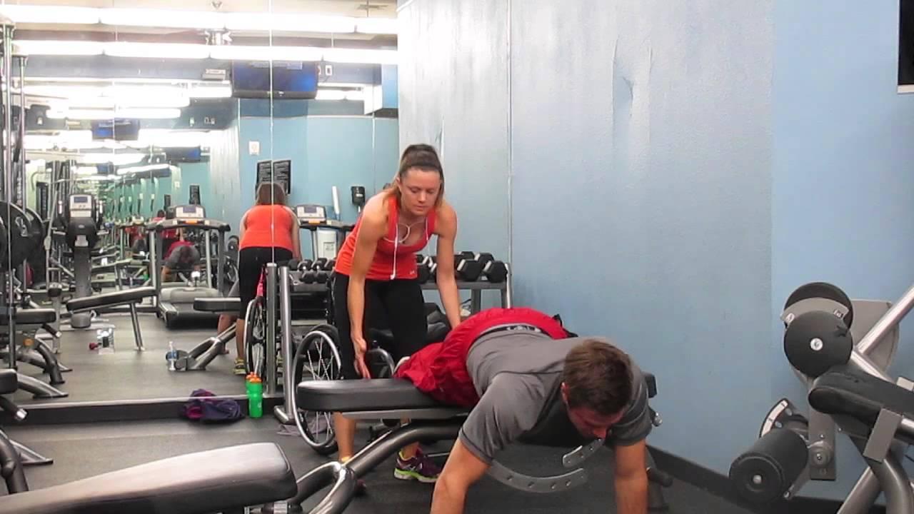 Garett Williamson Training Routine 1 Youtube