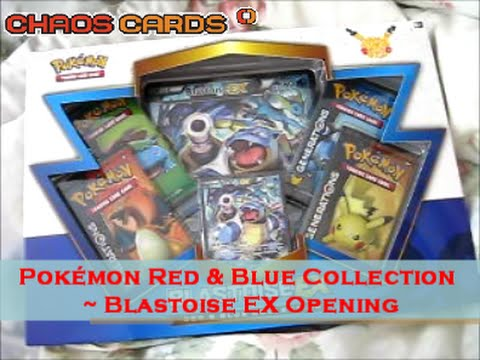 Pokemon Red and Blue Collection: Blastoise EX