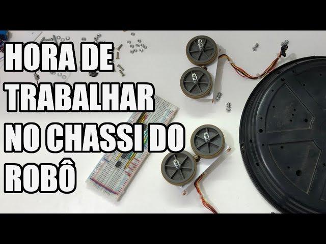 TRABALHANDO NO CHASSI DO ROBÔ | Usina Robots US-3 #016
