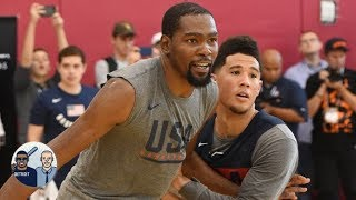 Kevin Durant doesn't support double-teaming in pick-up games | Jalen & Jacoby