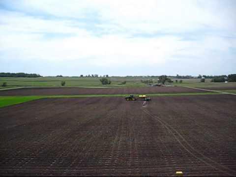 Corn Maze Planting 2013