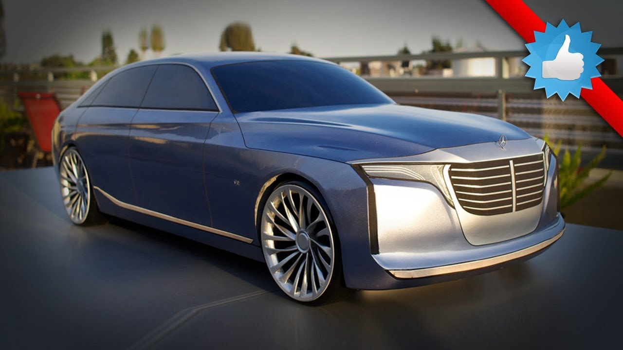 2021 Mercedes Benz U Class Concept Uber Saloon Placed